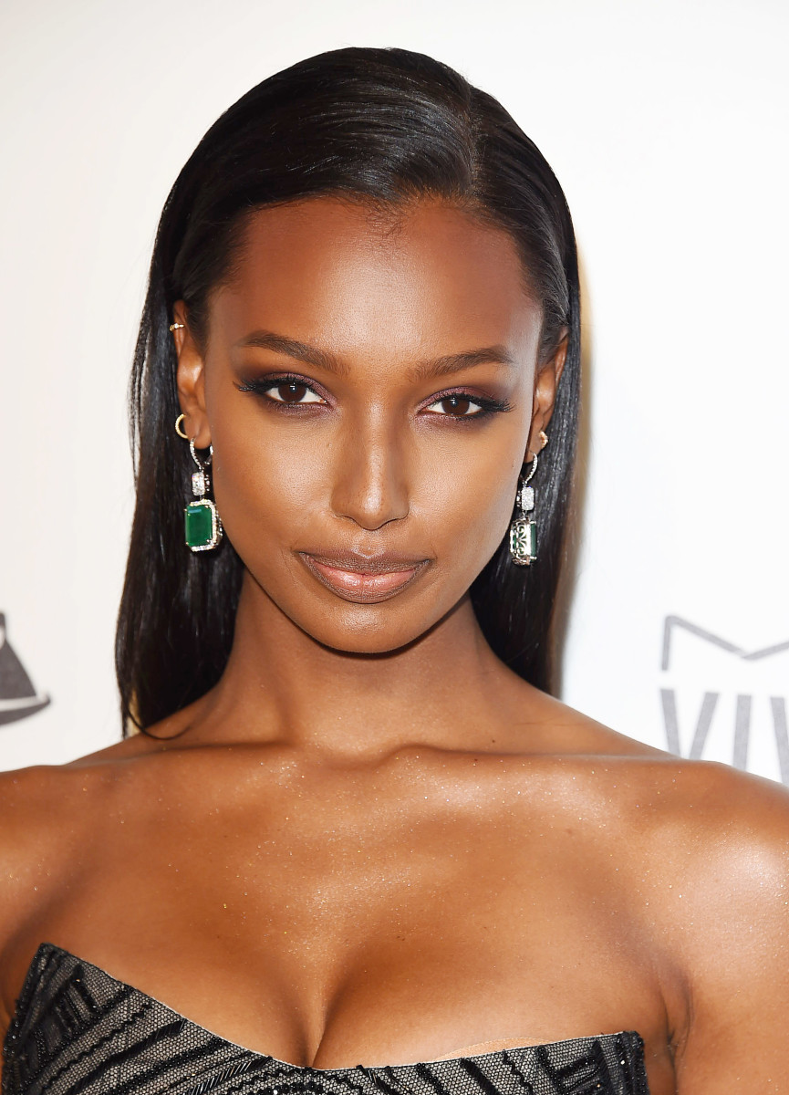 Jasmine Tookes, Elton John AIDS Foundation Oscars viewing party, 2018