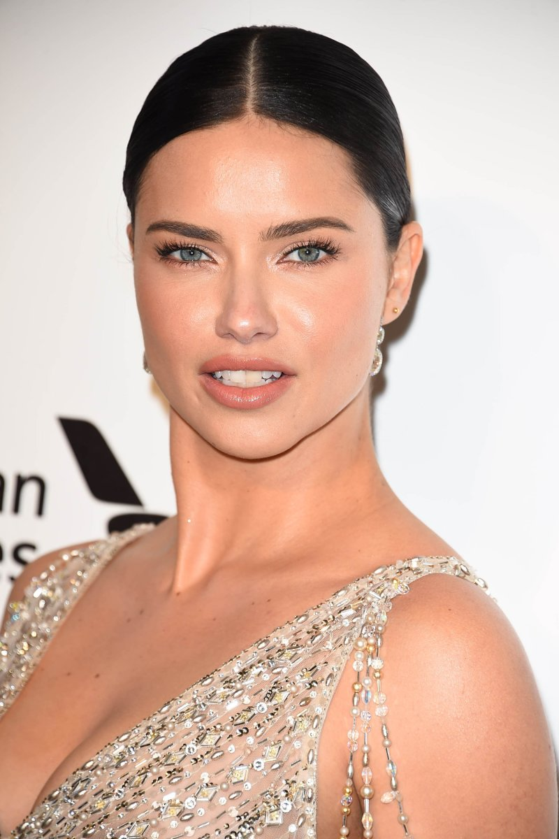 Adriana Lima, Elton John AIDS Foundation Oscars viewing party, 2018