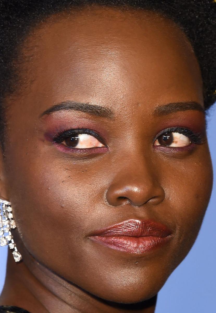 Lupita Nyong'o, Vanity Fair Oscar party, 2018