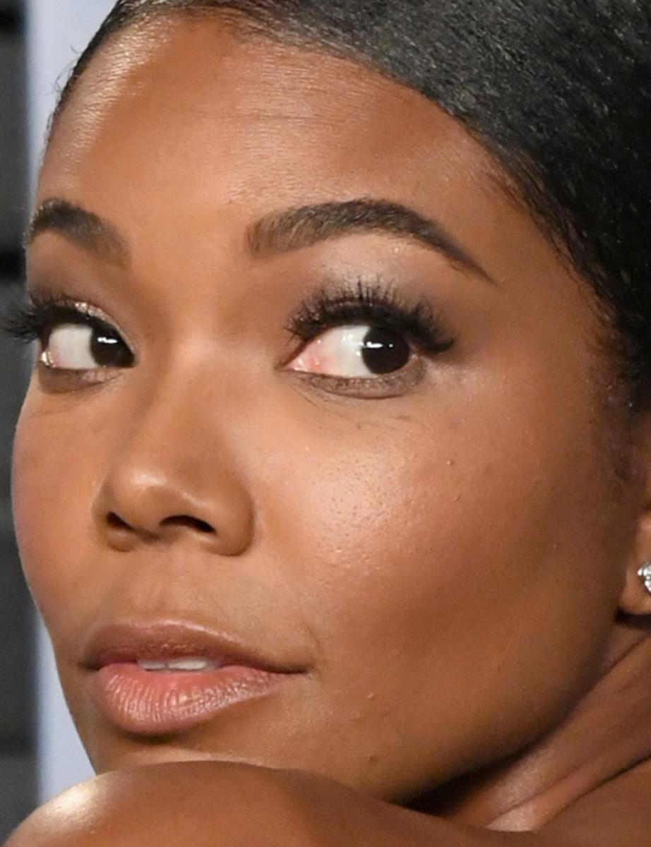 Gabrielle Union, Vanity Fair Oscar party, 2018