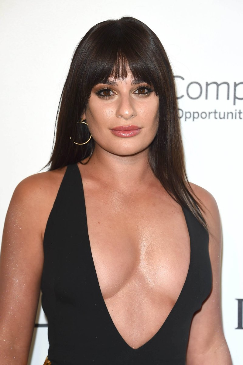 Lea Michele, Elton John AIDS Foundation Oscars viewing party, 2018