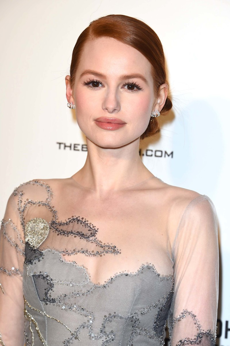Madelaine Petsch, Elton John AIDS Foundation Oscars viewing party, 2018