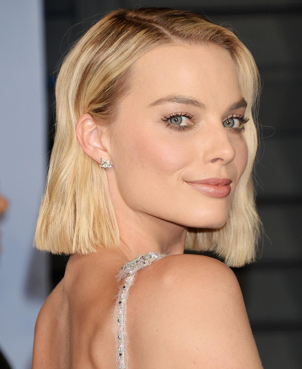 Margot Robbie, Vanity Fair Oscar party, 2018