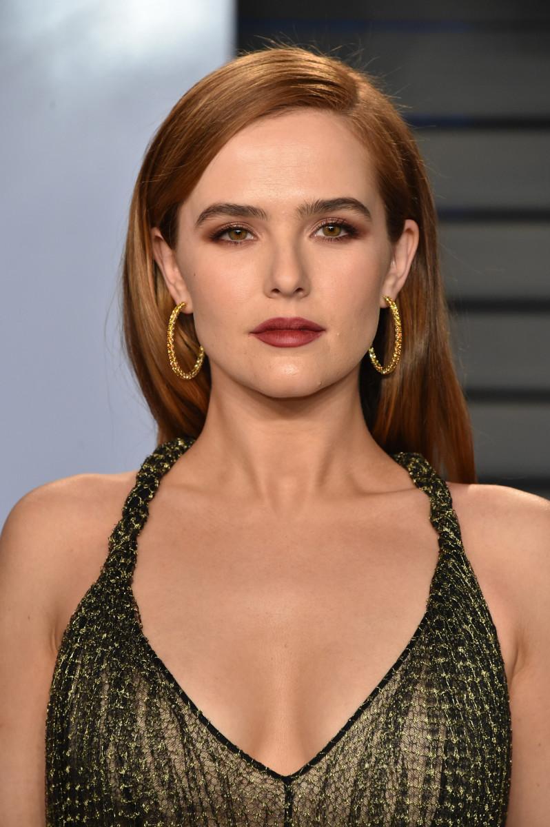 Zoey Deutch, Vanity Fair Oscar party, 2018