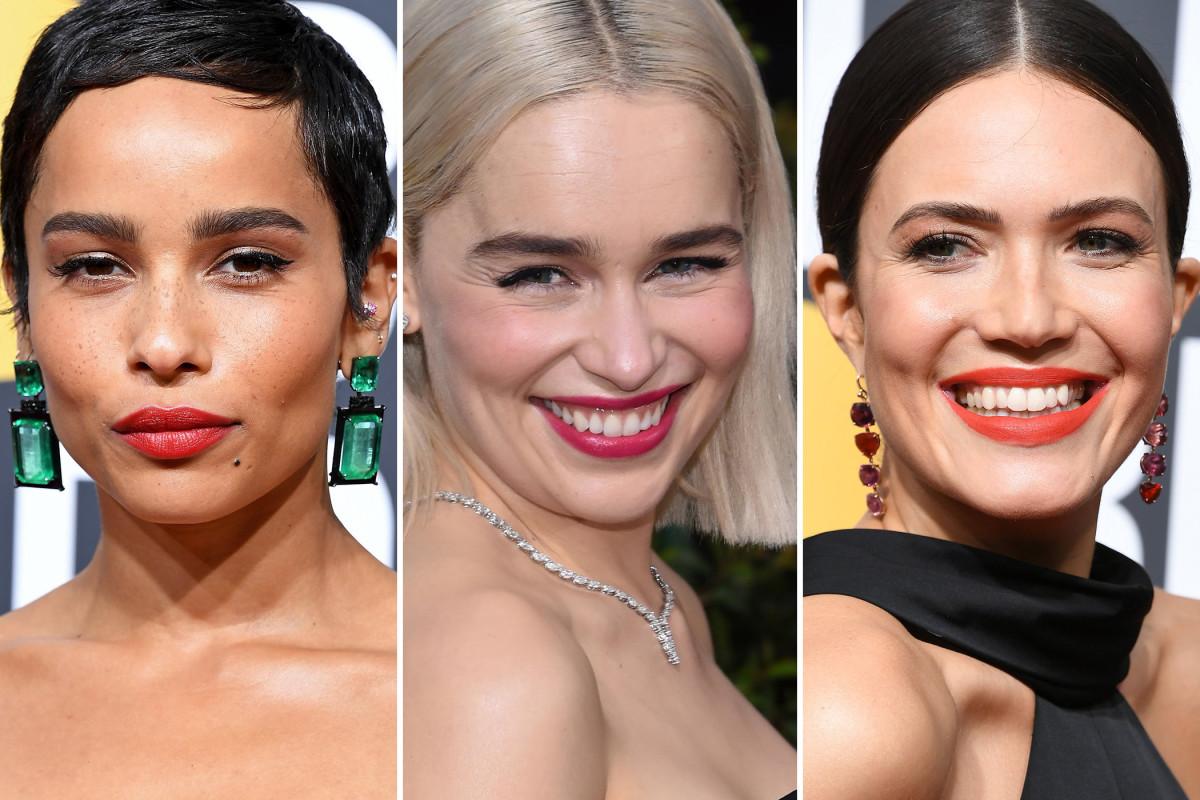 Golden Globes beauty 2018