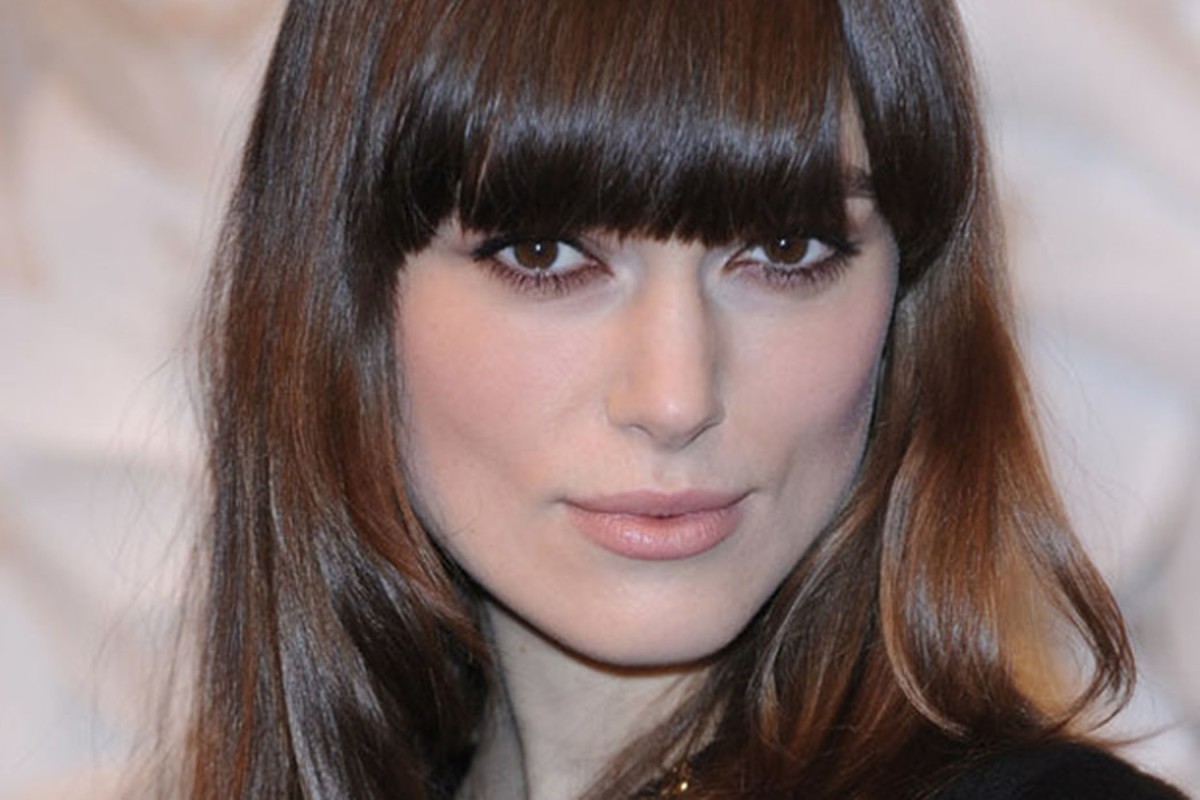 How to update straight, brown hair