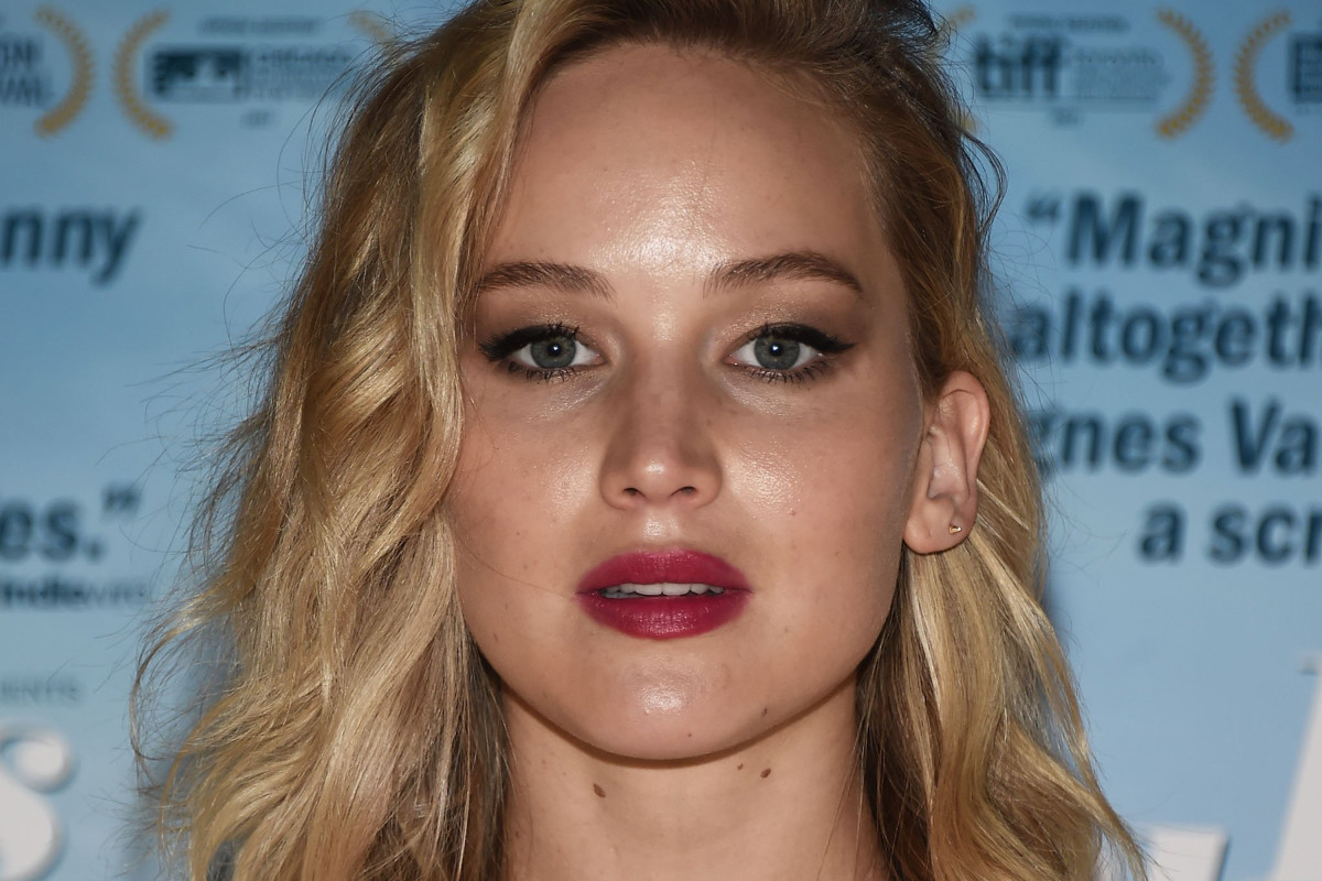 Jennifer Lawrence before and after