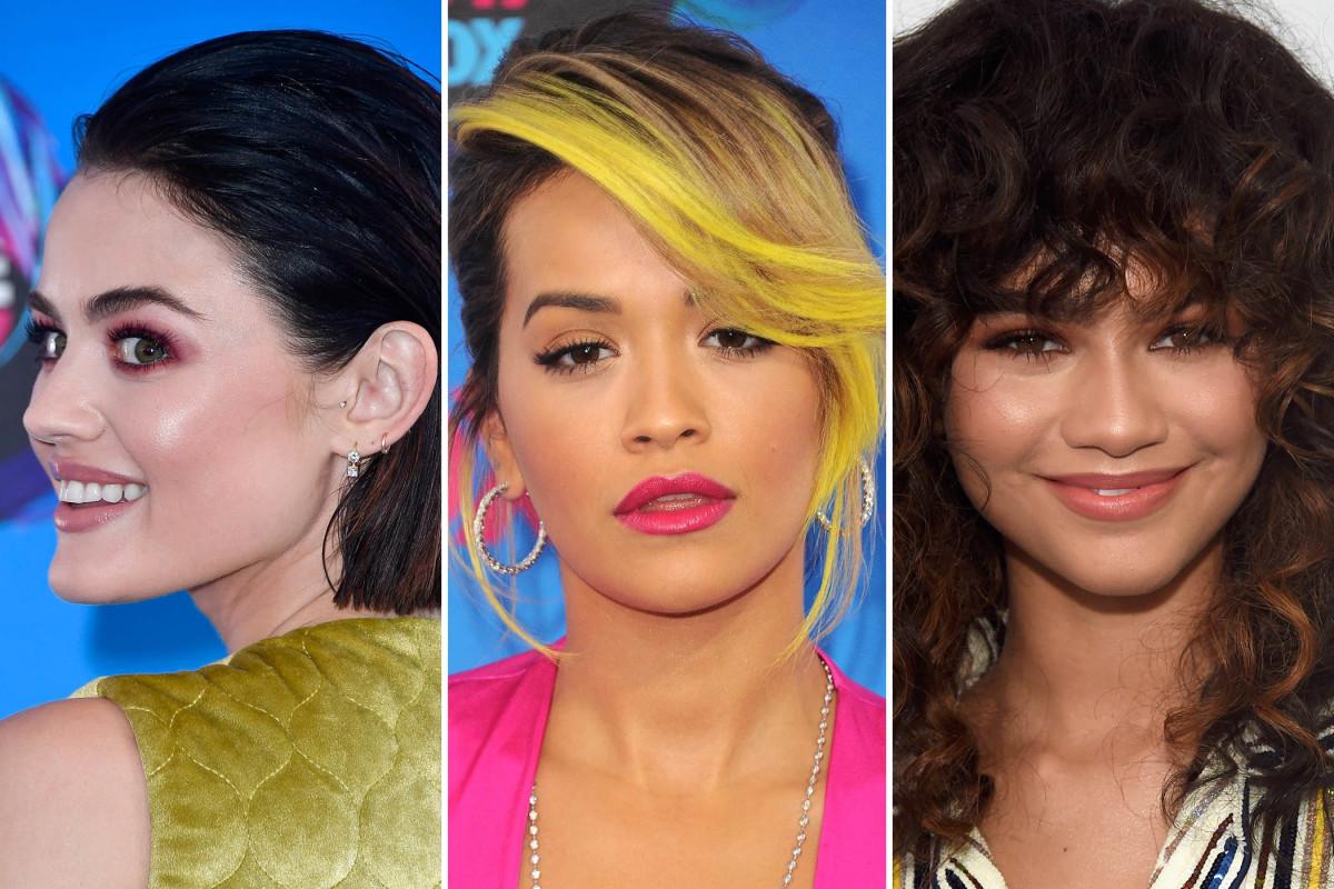 Teen Choice Awards 2017 beauty