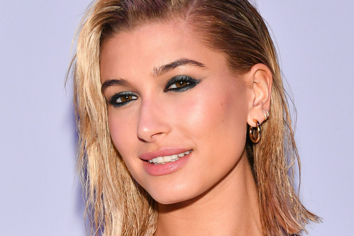 Hailey Baldwin before and after