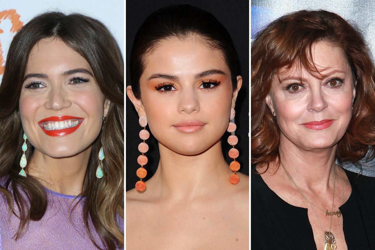 Mandy Moore, Selena Gomez, Susan Sarandon