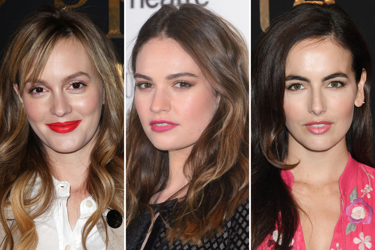 Leighton Meester, Lily James, Camilla Belle
