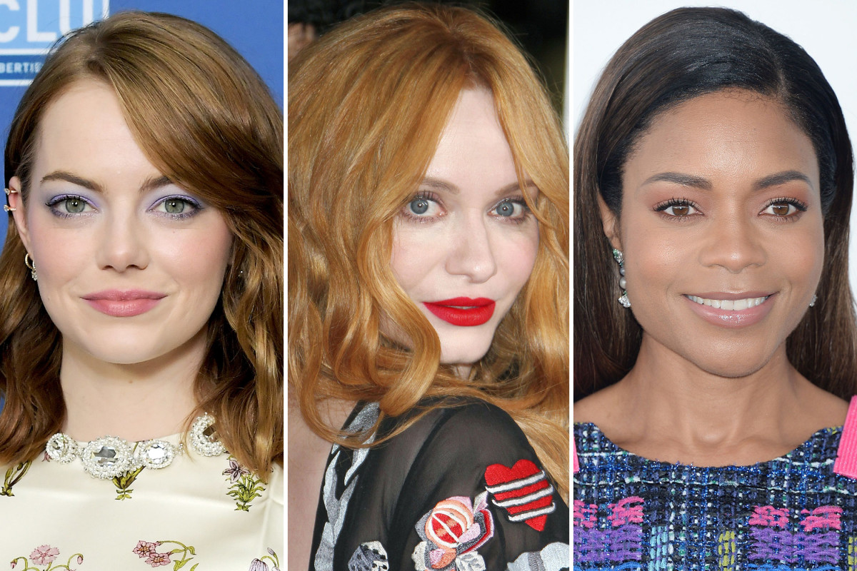 Emma Stone, Christina Hendricks, Naomie Harris