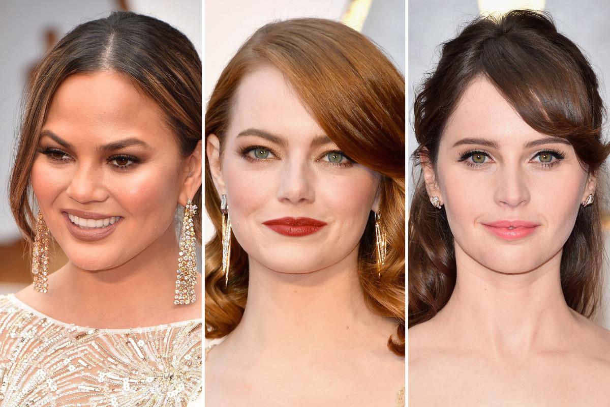 Oscars 2017 beauty