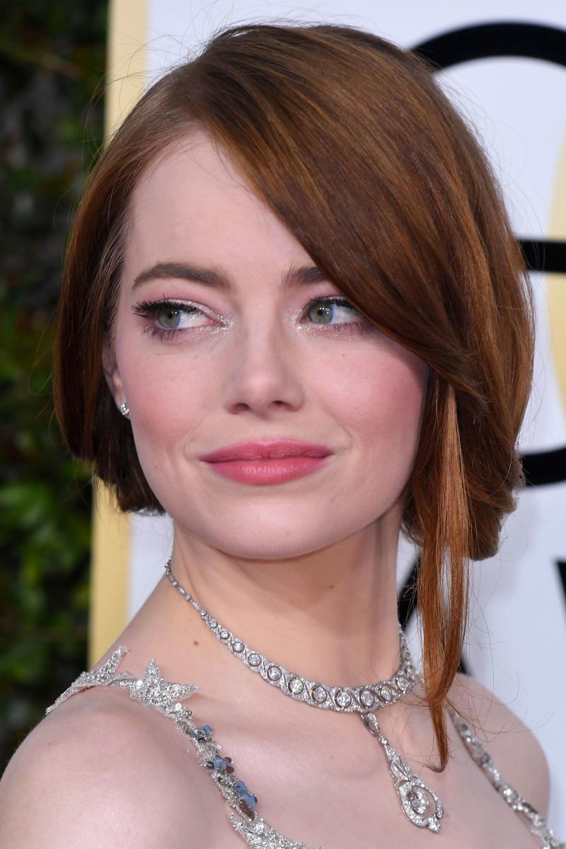 Emma Stone, Golden Globe Awards, 2017