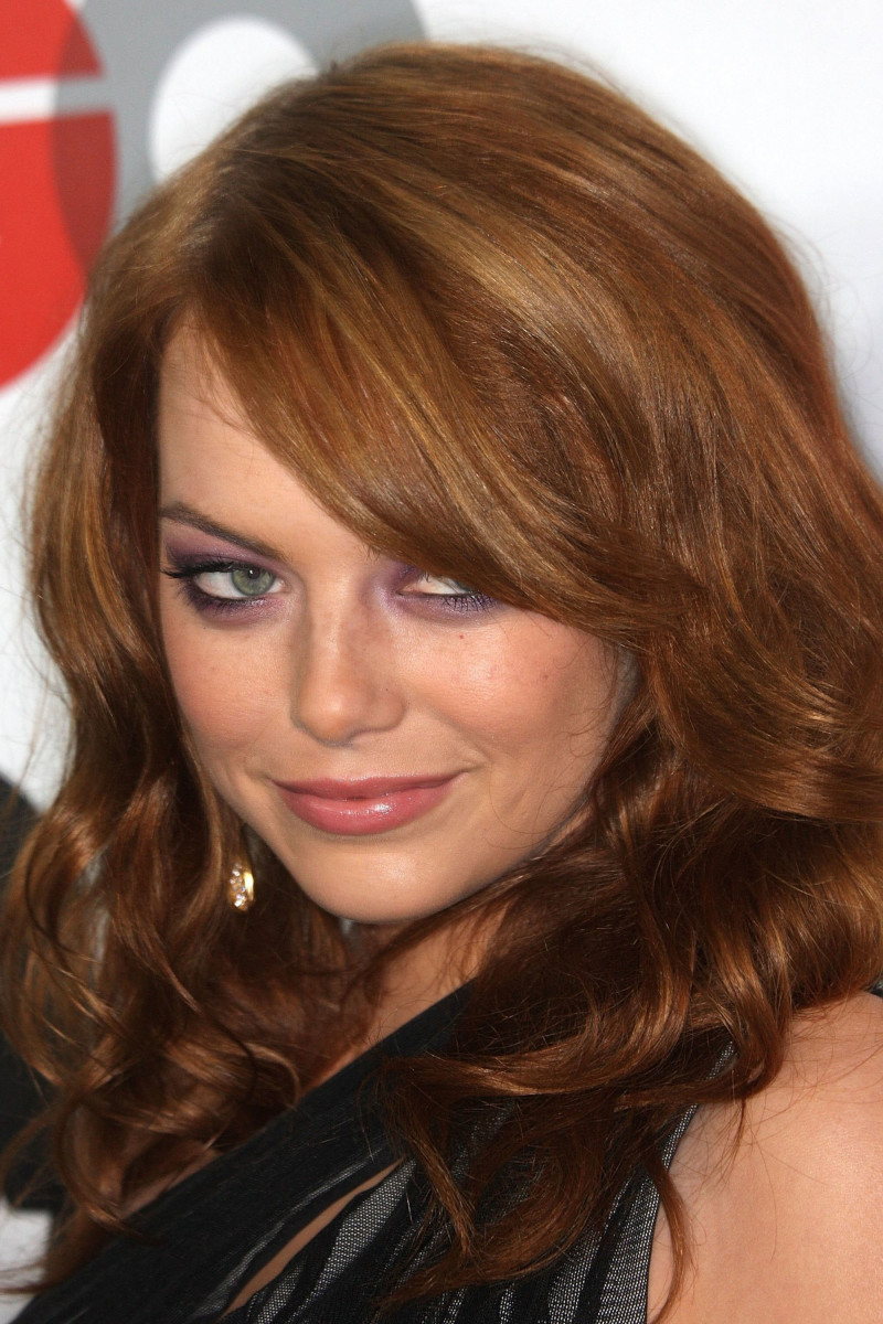 Emma Stone, GQ Men of the Year party, 2009