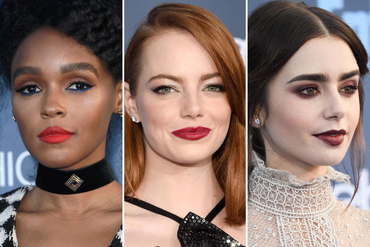 Critics' Choice Awards 2017 beauty