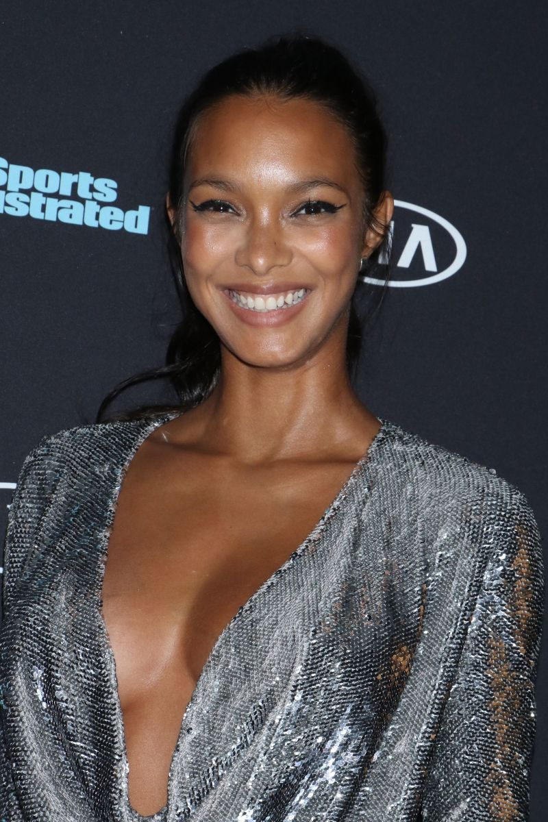 Lais Ribeiro, Sports Illustrated Swimsuit Edition launch event, 2018