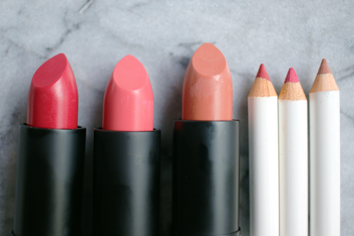 All natural lipstick and lip pencil review