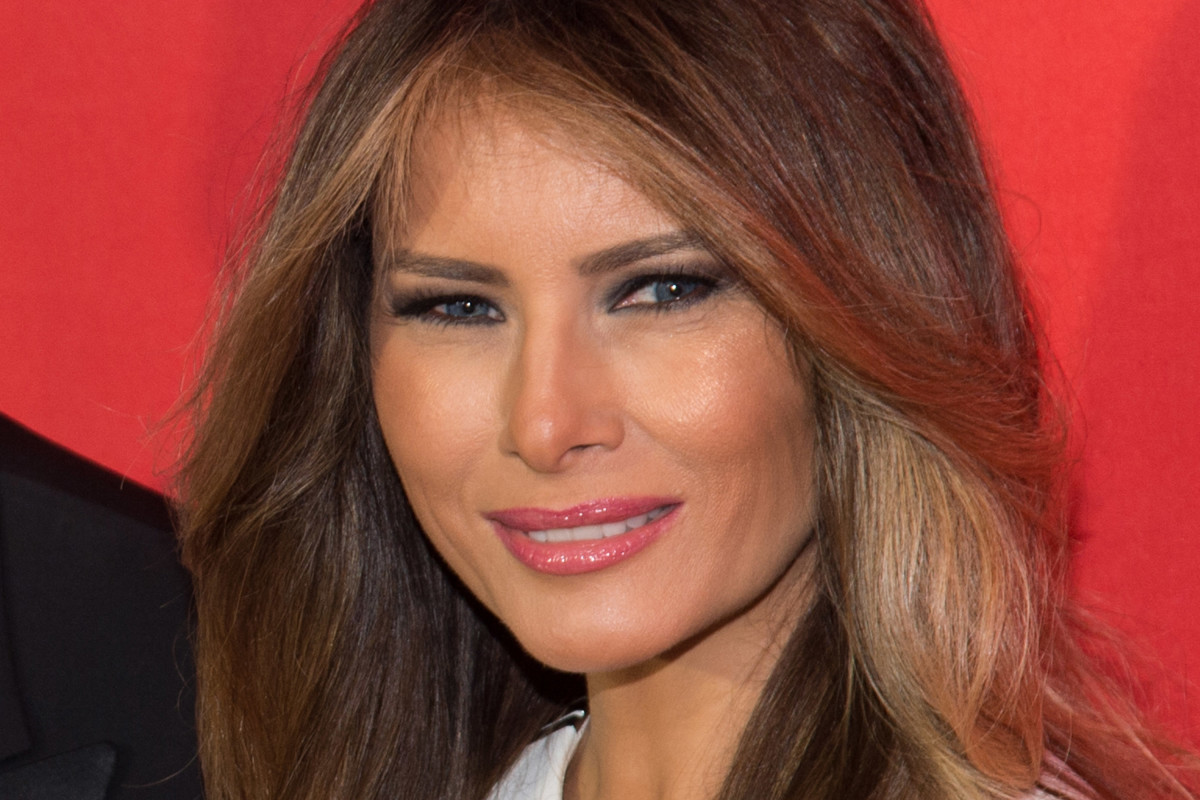 Melania Trump before and after