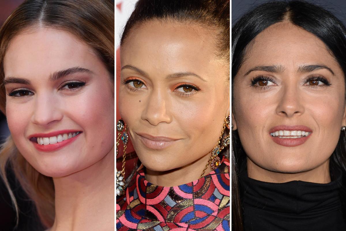Lily James, Thandie Newton, Salma Hayek