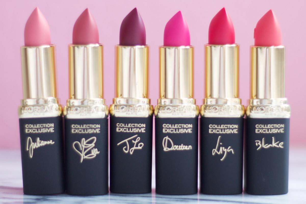 L'Oreal pink lipstick