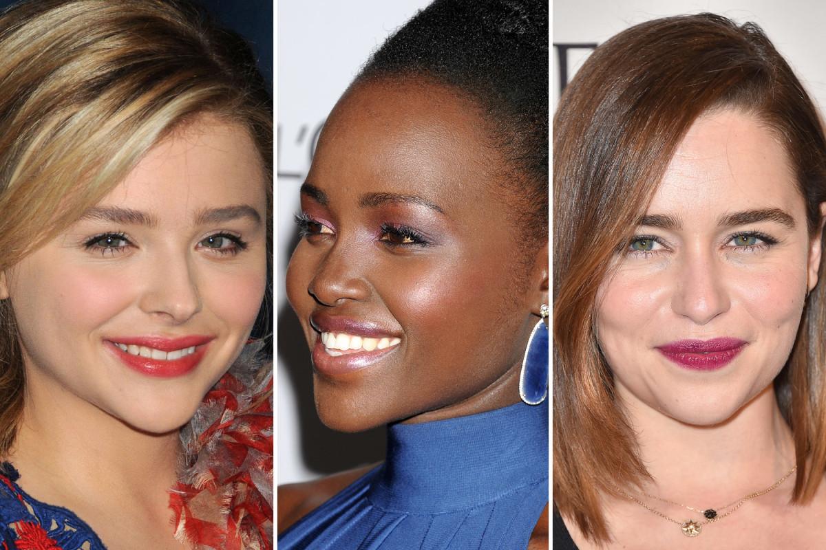 Chloe Moretz, Lupita Nyong'o, Emilia Clarke