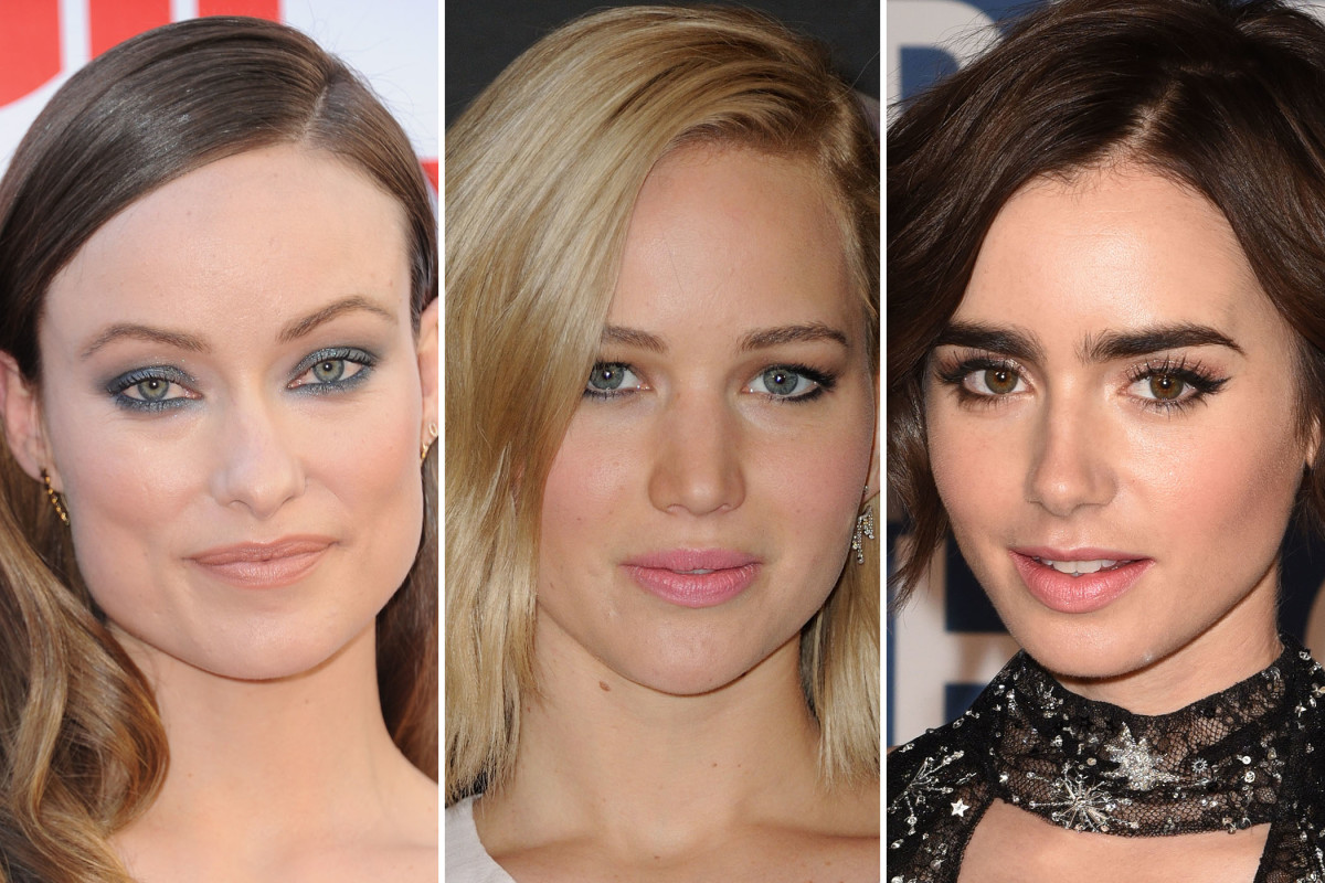 Olivia Wilde, Jennifer Lawrence, Lily Collins