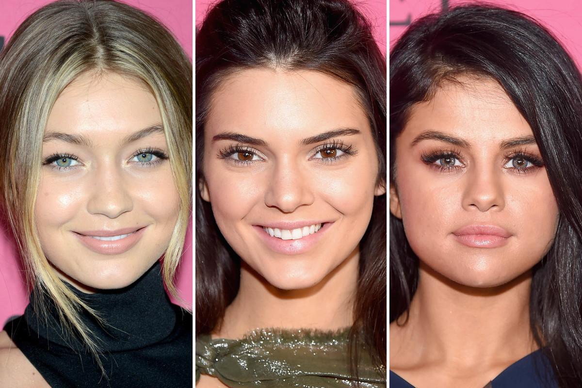 Victoria's Secret Show 2015 after-party beauty looks