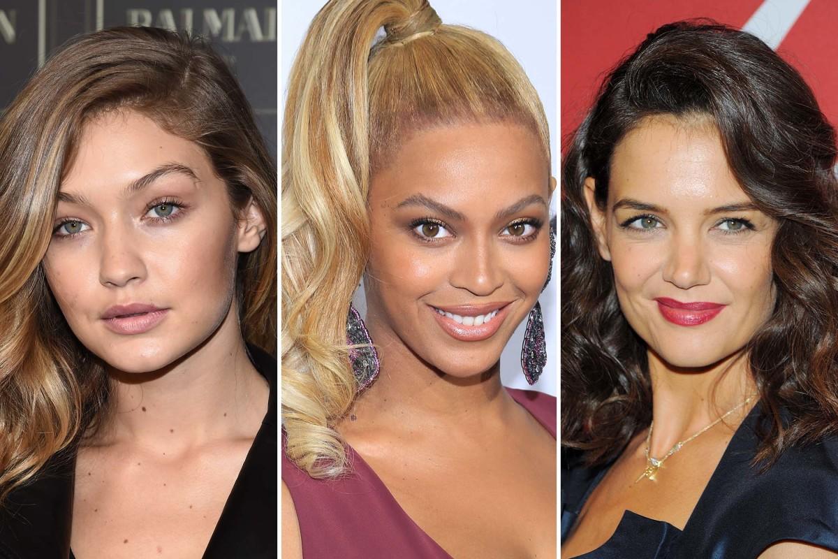 Gigi Hadid, Beyonce, Katie Holmes