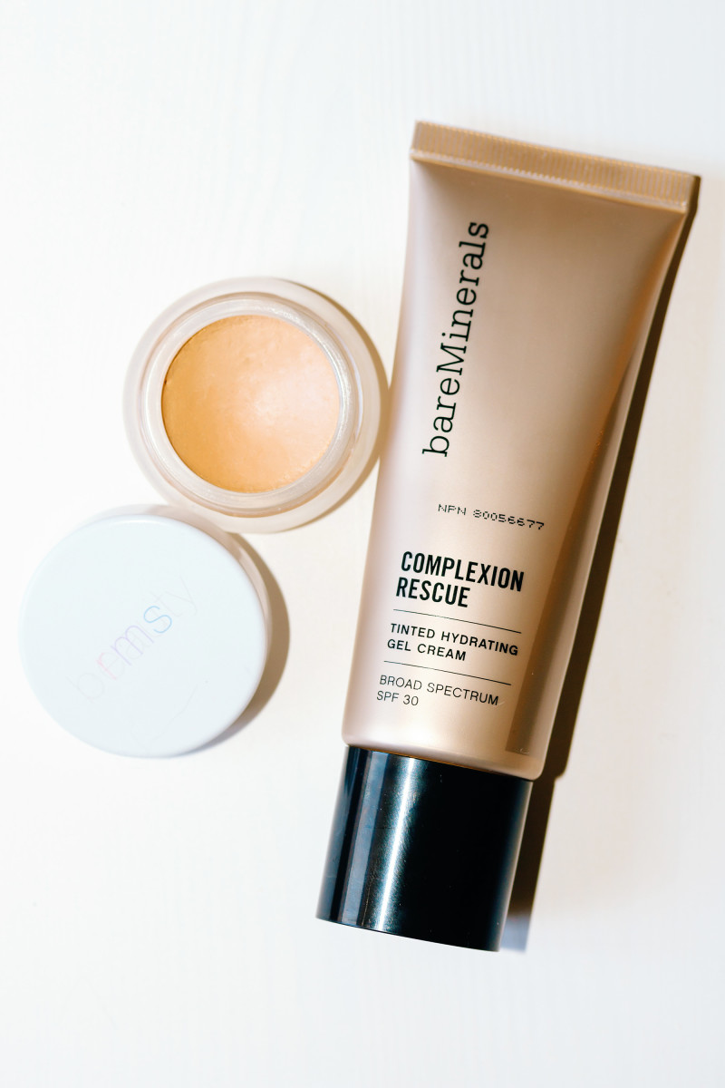 RMS Beauty Un Cover-Up and Bare Minerals Complexion Rescue Tinted Moisturizer