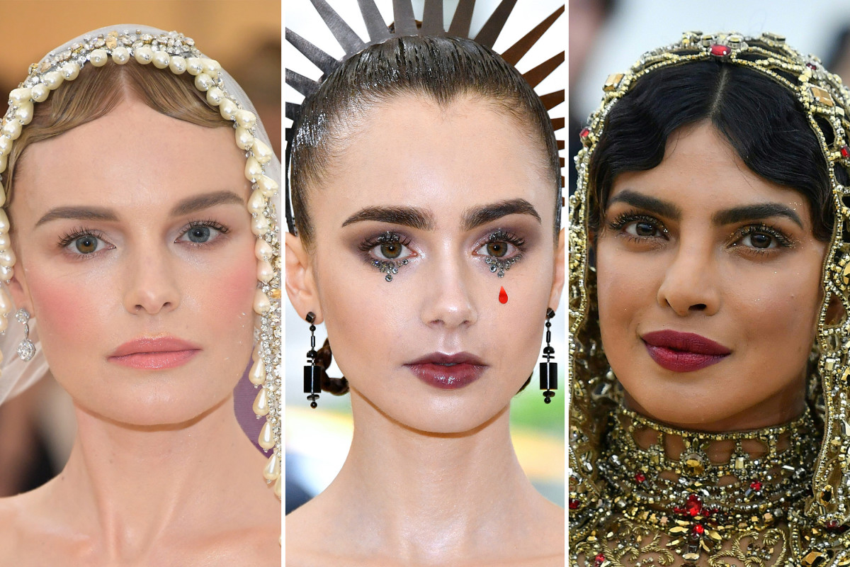 Met Gala 2018 beauty looks