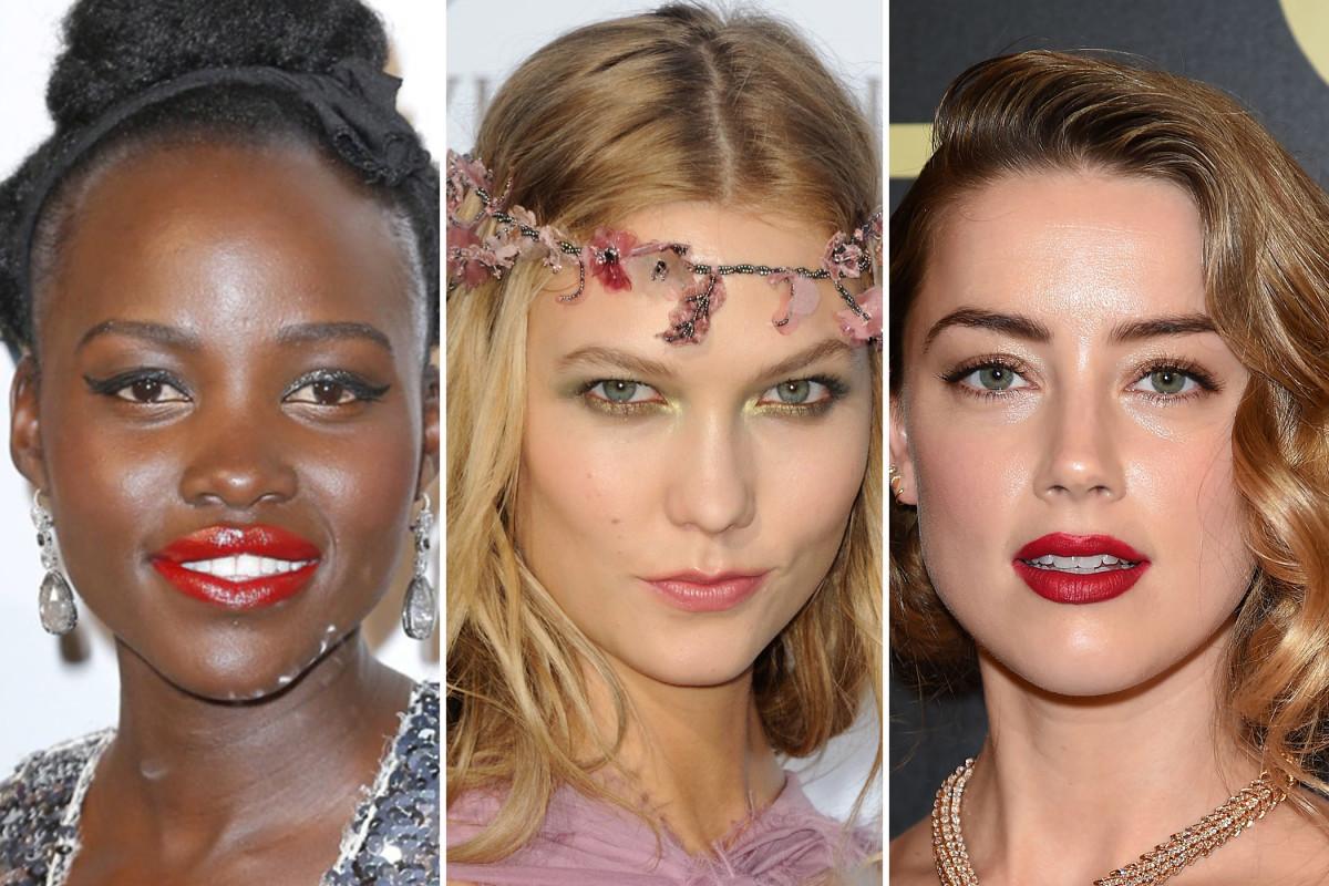 Lupita Nyong'o, Karlie Kloss, Amber Heard