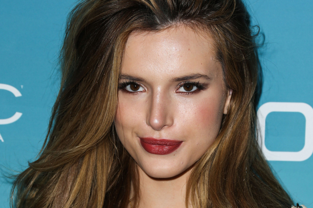 Bella Thorne before and after