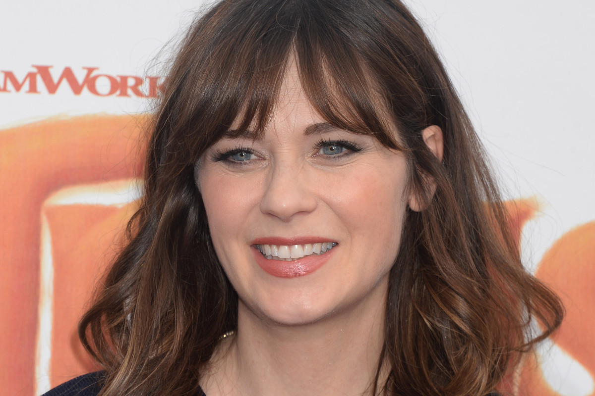 Zooey Deschanel before and after