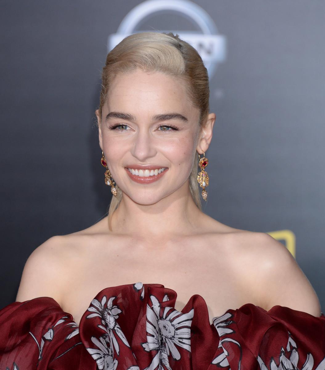 Emilia Clarke, Solo A Star Wars Story premiere, 2018