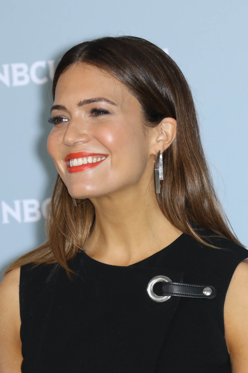 Mandy Moore, NBC Universal Upfront Presentation, 2018