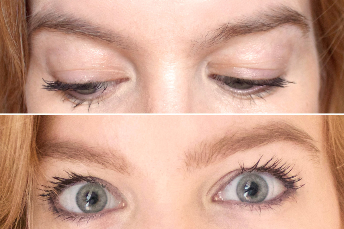 Yves Saint Laurent Couture Brow before and after