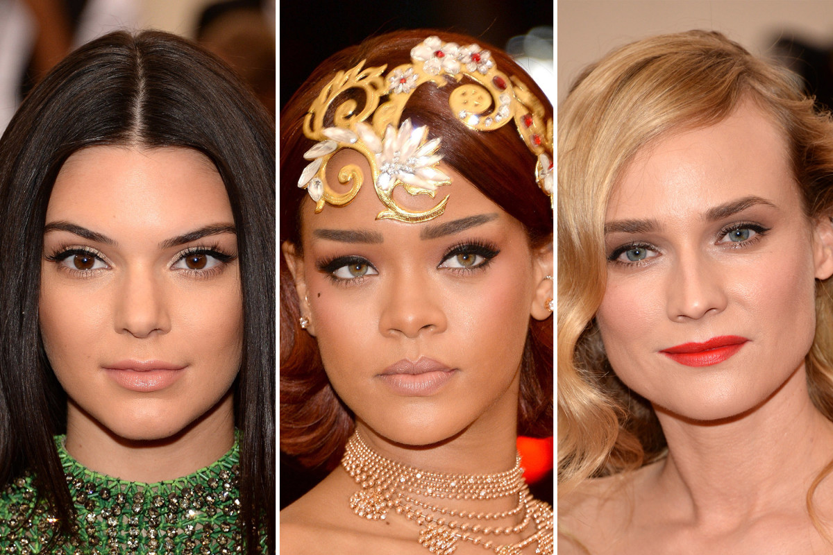 Met Gala 2015 beauty looks