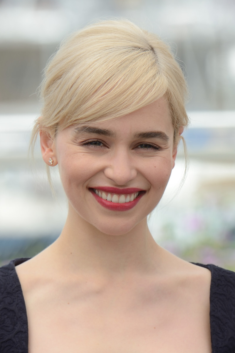 Emilia Clarke, Solo A Star Wars Story Cannes photocall, 2018