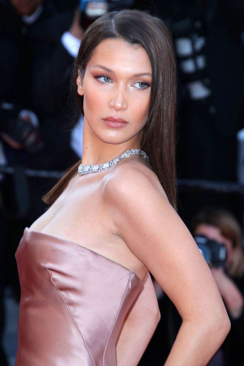 Bella Hadid, Ash Is Purest White Cannes premiere, 2018