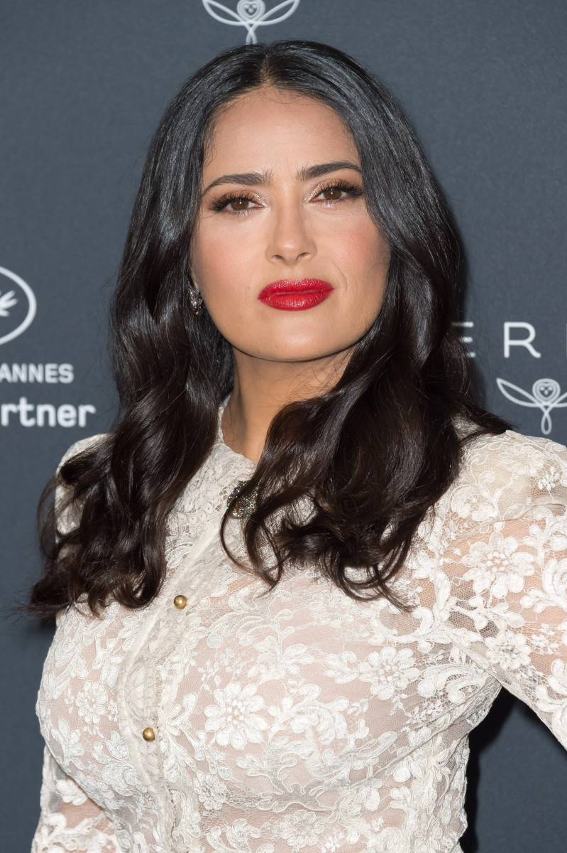 Salma Hayek, Kering Women in Motion photocall, Cannes, 2018