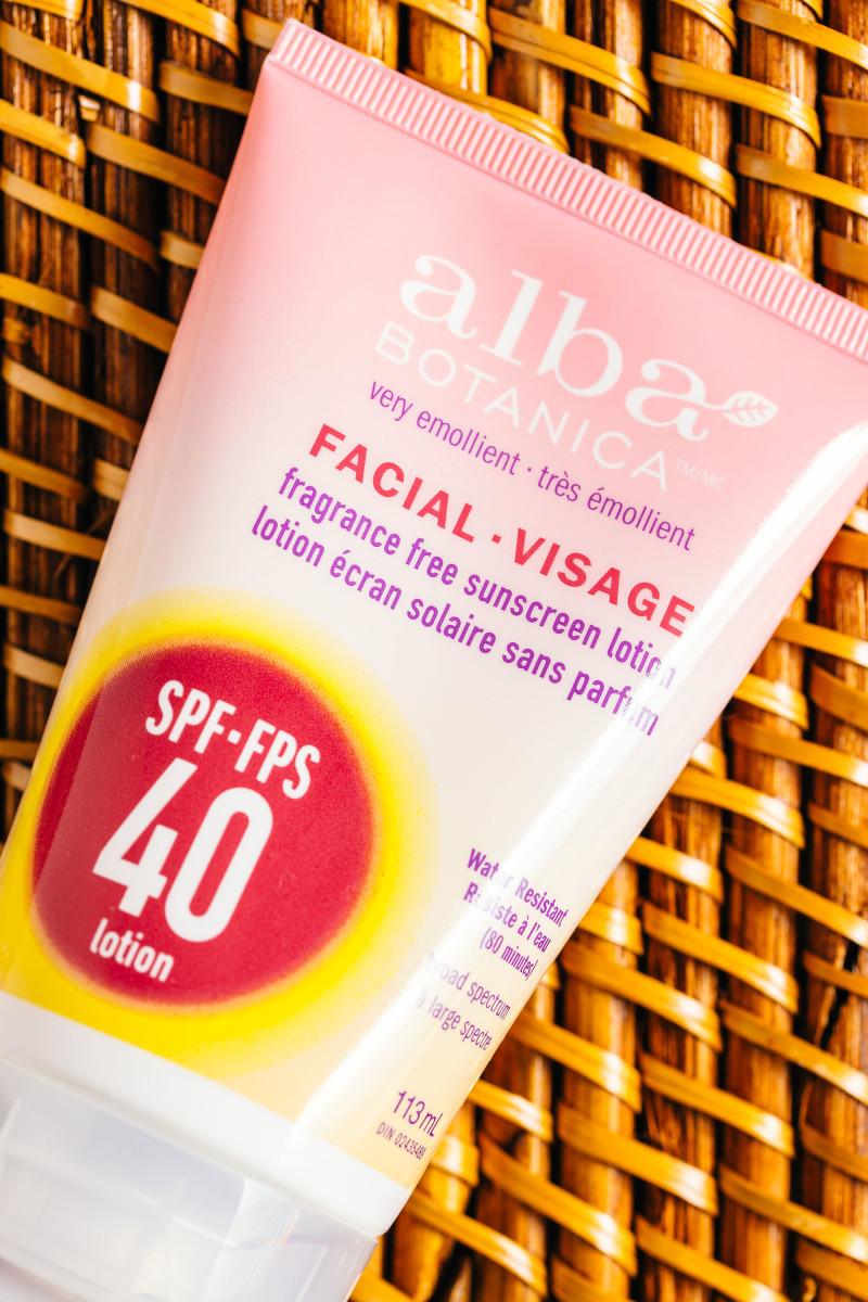 Sunscreen ingredients - Alba Botanica Fragrance Free Sunscreen Lotion SPF 40