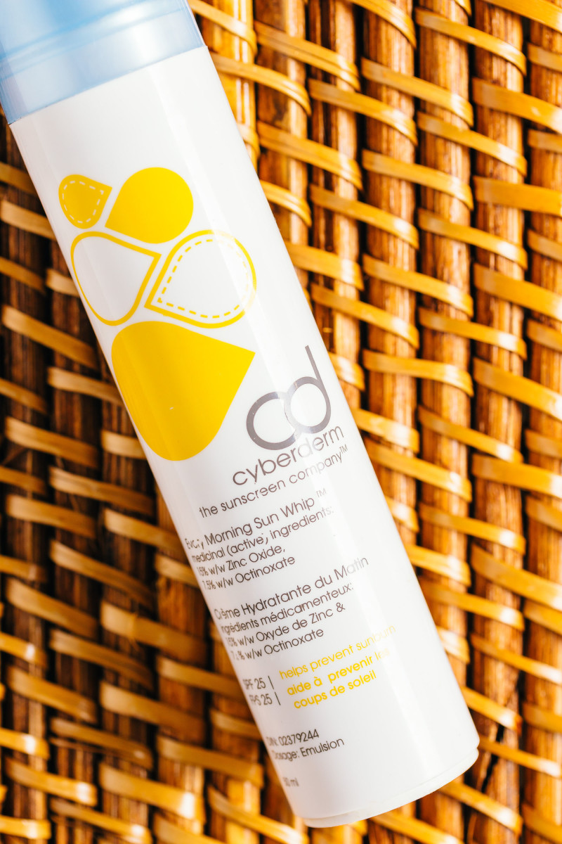 Sunscreen ingredients - Cyberderm Every Morning Sun Whip SPF 25