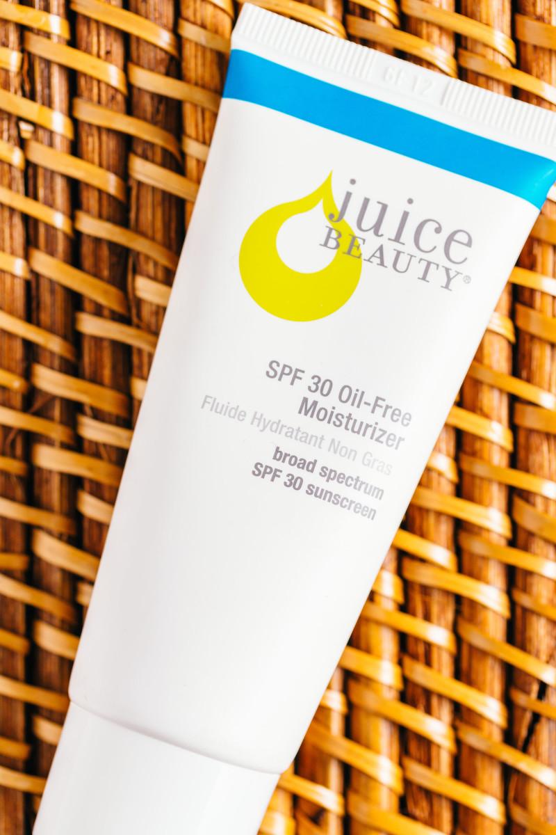 Sunscreen ingredients - Juice Beauty SPF 30 Oil-Free Moisturizer