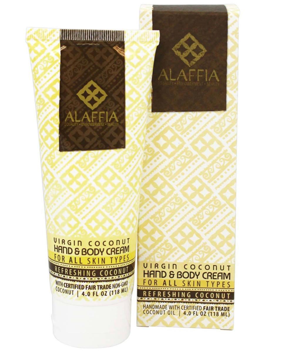 Alaffia Virgin Coconut Hand and Body Cream