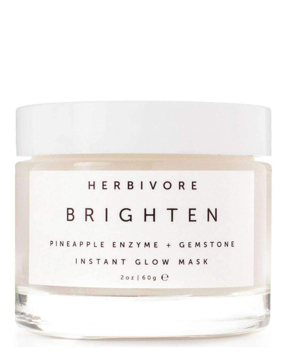 Herbivore Brighten Pineapple Enzyme and Gemstone Instant Glow Mask