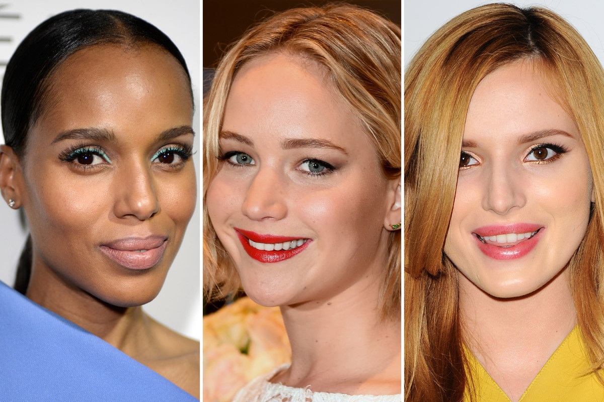 Elle Women in Hollywood Awards 2014 beauty looks