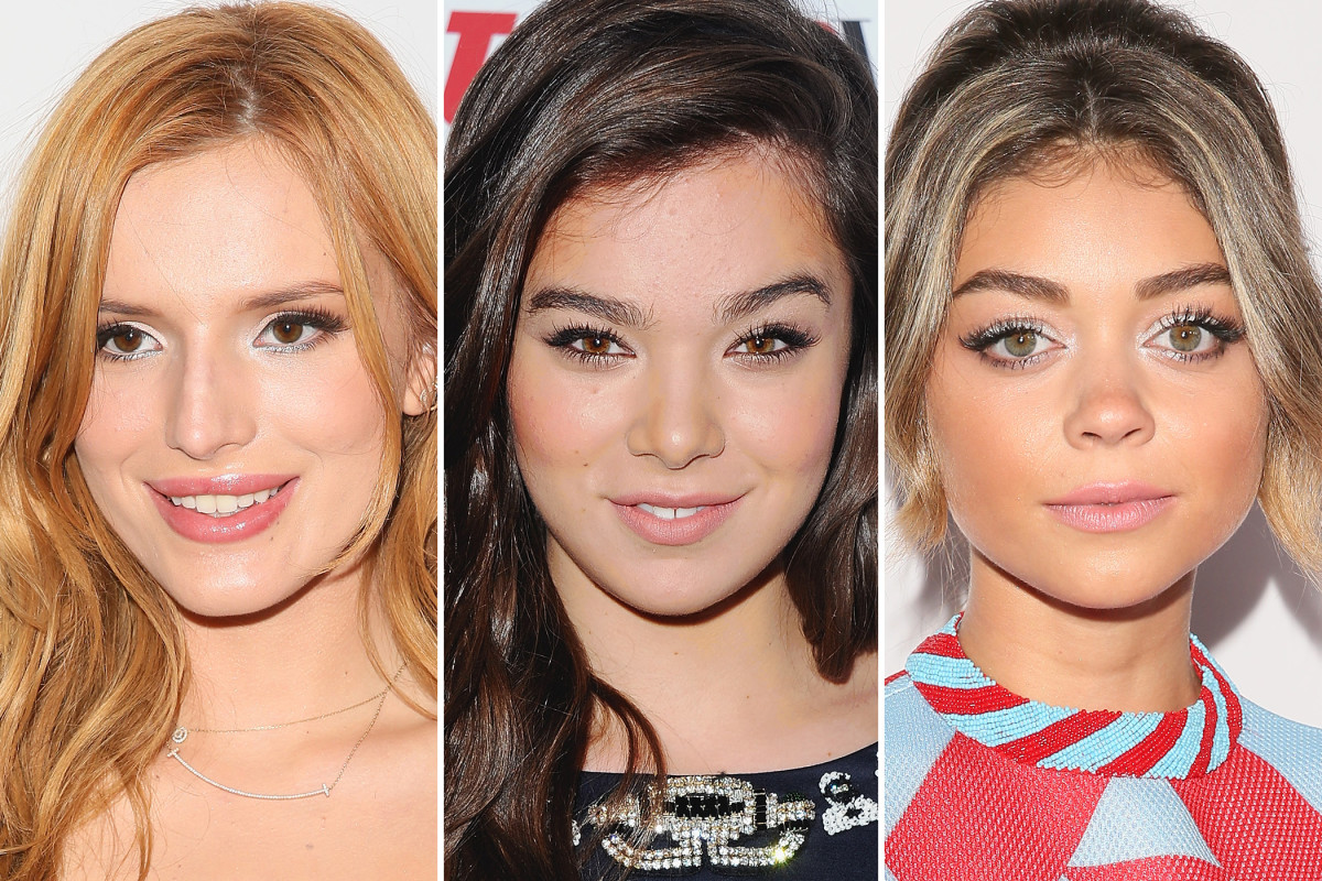 Teen Vogue Young Hollywood Party 2014 beauty looks