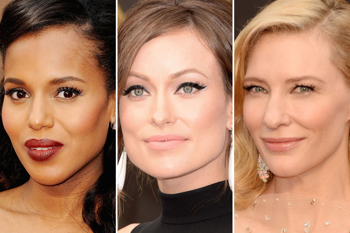 Oscars 2014 beauty looks