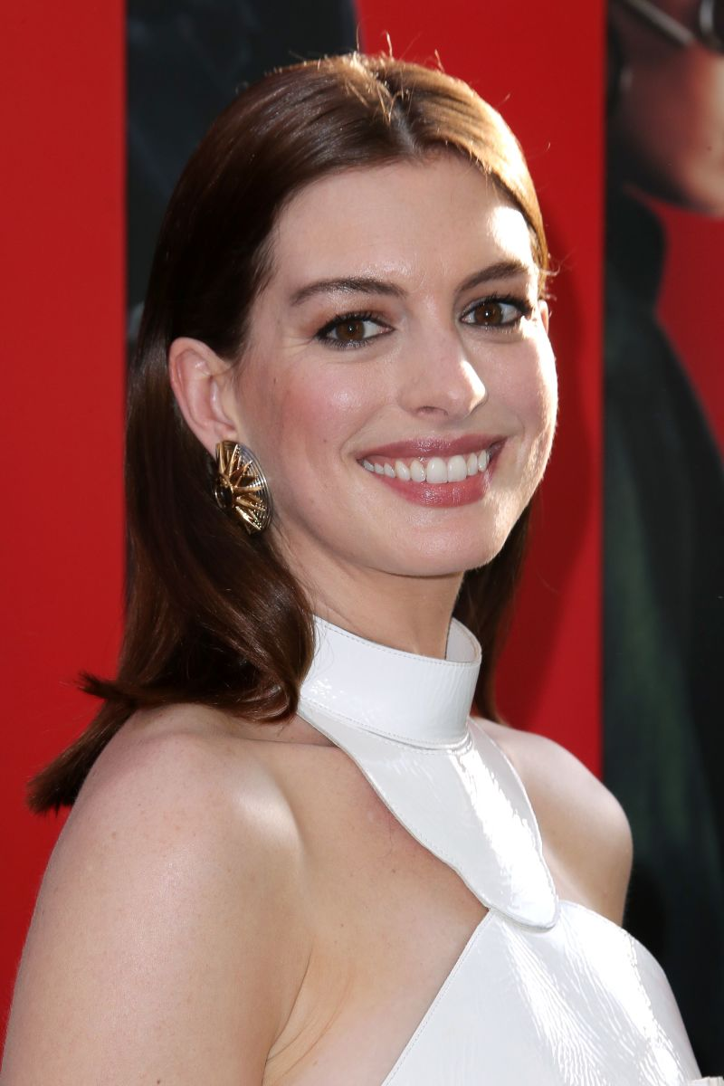 Anne Hathaway at the 2018 New York premiere of 'Ocean's 8.'